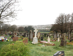 Weston Mill cemetery, Plymouth
