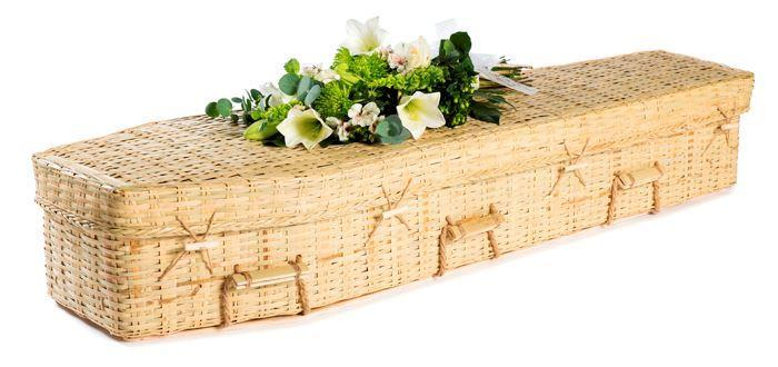funerals-totnes-devon-coffins-woven-bamboo-eco-traditional