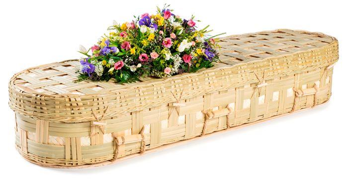 funerals-totnes-devon-coffins-woven-bamboo-lattice-round