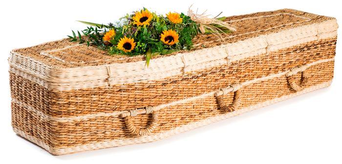 funerals-totnes-devon-coffins-woven-banana-leaf-traditional