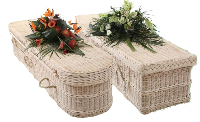 funerals-totnes-devon-coffins-woven-cane-rounded-traditional
