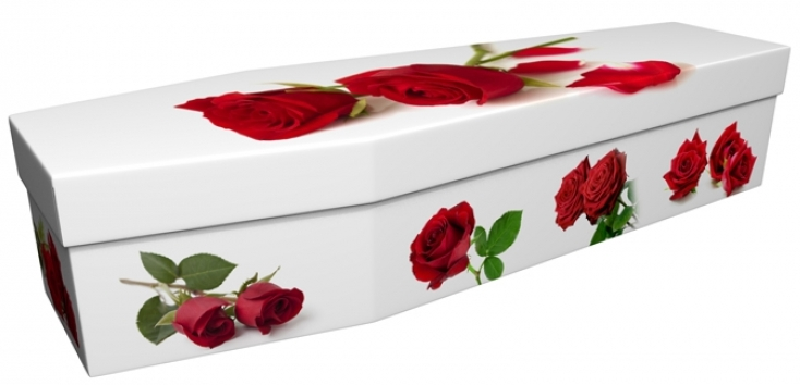 funerals-totnes-devon-coffins-cardboard-red-rose