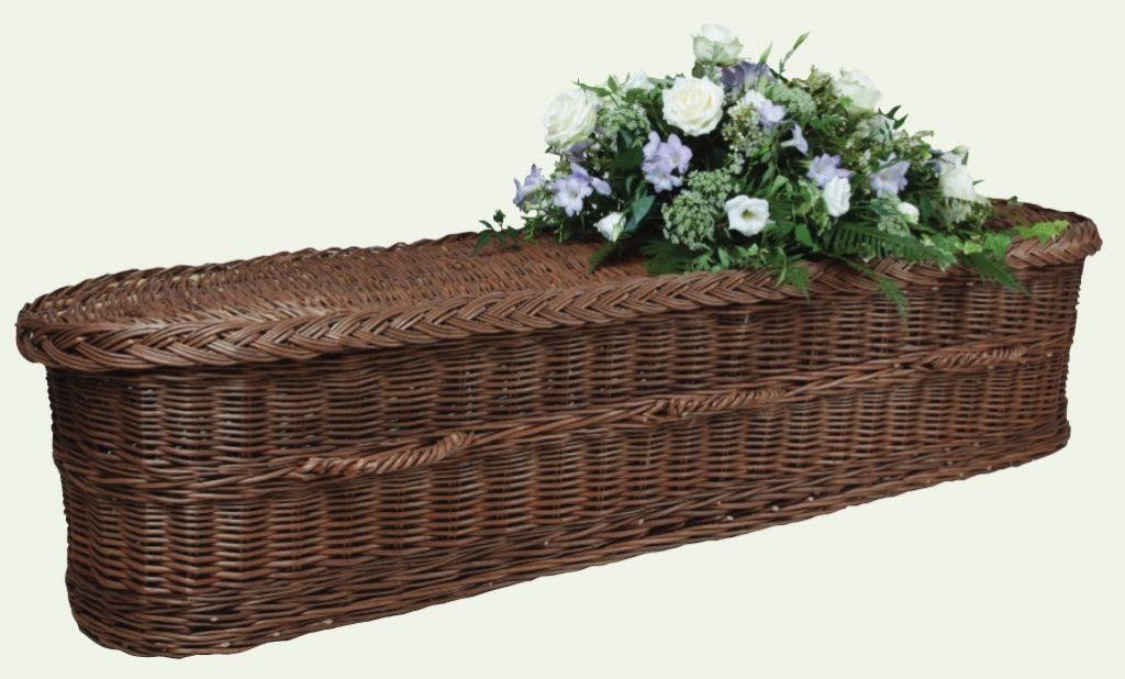 funerals-totnes-devon-coffins-woven-willow-haymoor-rounded-brown