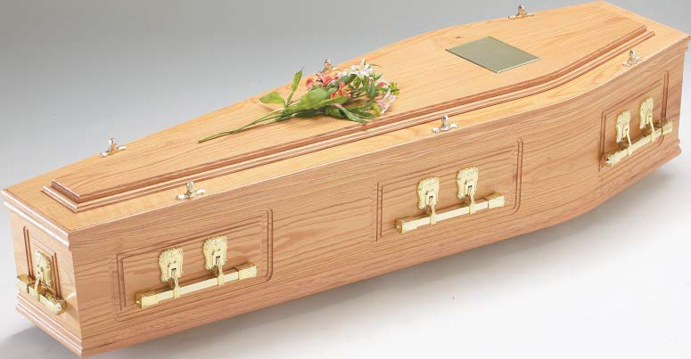 funerals-totnes-devon-wood-coffins-highbury-oak-solid