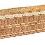 funerals-totnes-devon-coffins-woven-willow-quantock-rounded-buff
