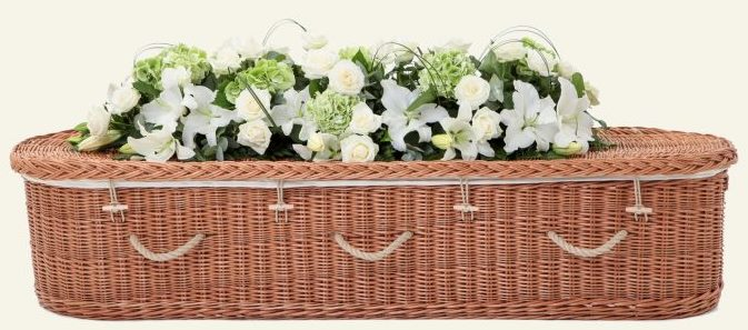 funerals-totnes-devon-coffins-woven-willow-rounded-buff