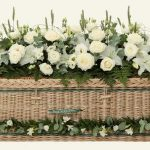 funerals-totnes-devon-coffins-woven-willow-traditional-gold-green