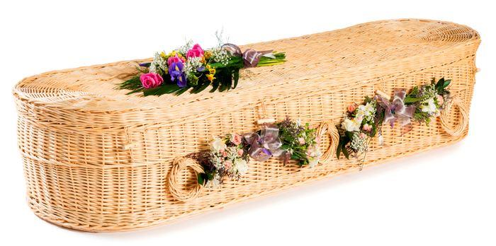 funerals-totnes-devon-coffins-woven-willow-rounded-cromer-white